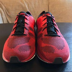 9255b6fb7ccc Nike Shoes - NEW Nike Flyknit Trainer Red Black AH8396-601